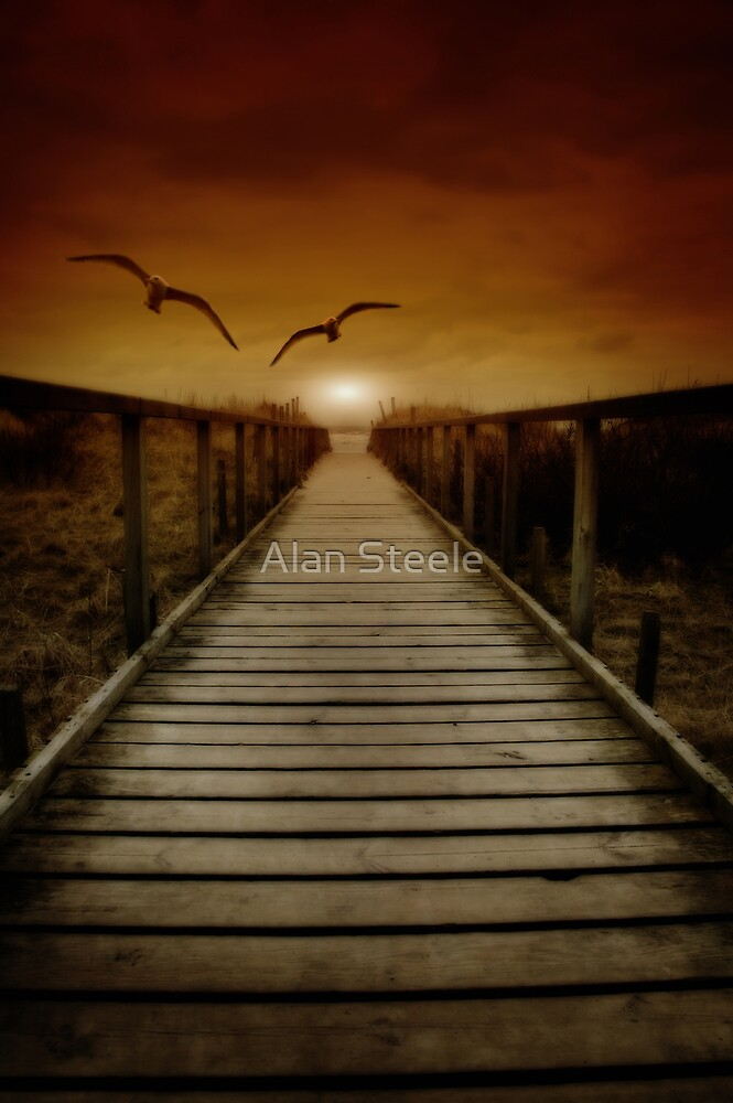 Boardwalk 1 by Alan Steele