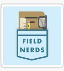 Field Nerds Sticker