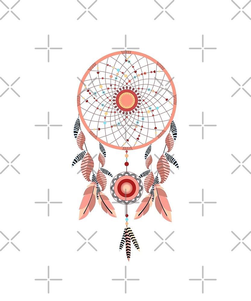 Dreamcatcher Dream Feathers by PopArtDesigns