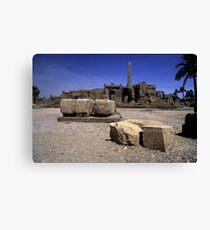 Karnak Temple Egypt Canvas Print