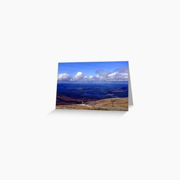 Cairngorm view Greeting Card