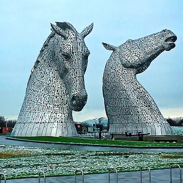 The Kelpies in January by tomg