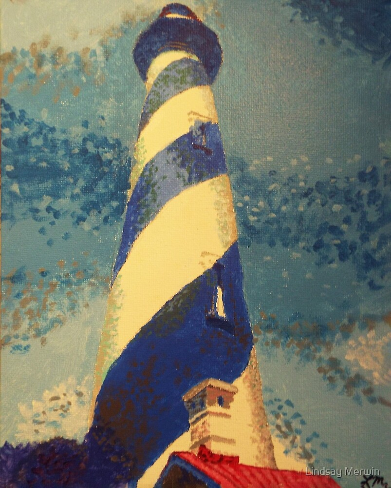 St. Augustine Lighthouse by Lindsay Merwin