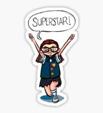 Mary Katherine Gallager Superstar Sticker