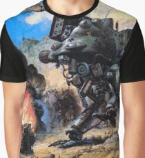 Metal Gear 2 Solid Snake (Cover Art) Graphic T-Shirt