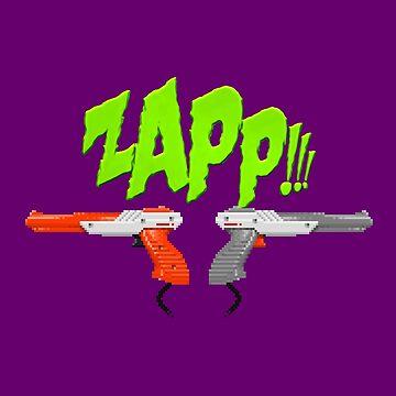 ZAPP !!! [Pixel Kunst] von carlostato