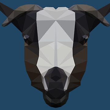 Low Poly Goat by Dobbyche