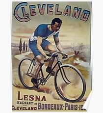 old retro vintage Bicycle poster Poster