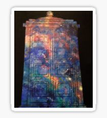 Doctor Who: Galaxy Tardis Sticker