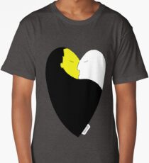 HeartCraft White&Yellow Long T-Shirt