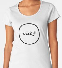 Vulfpeck (Vulf circle logo) Women's Premium T-Shirt