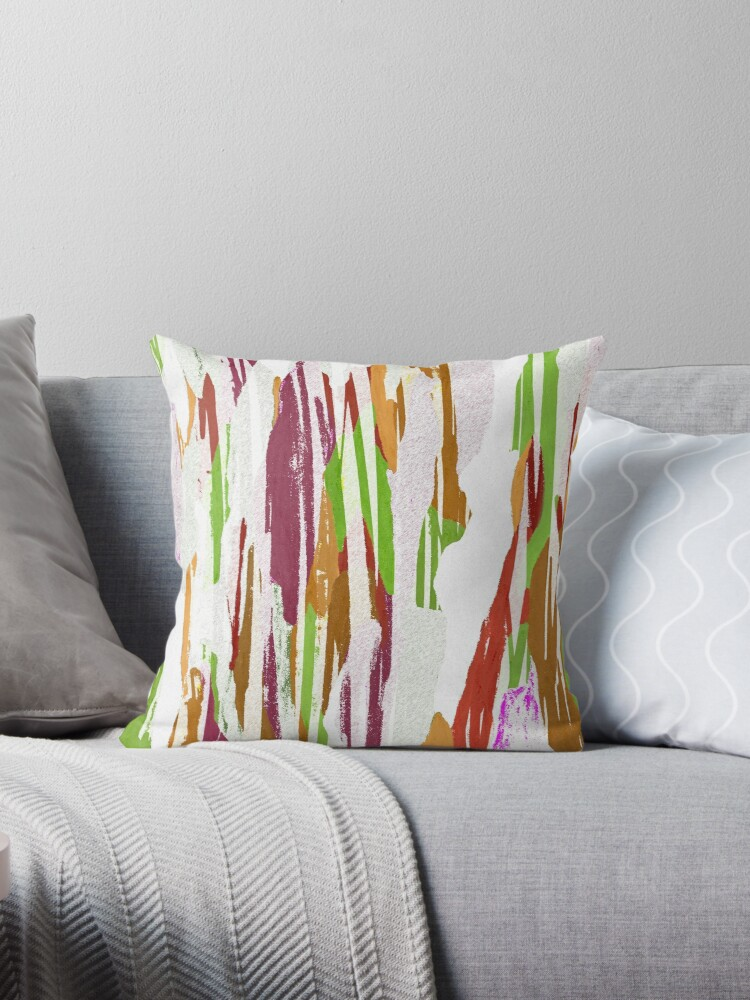 Abstract Rainbow Splash Design by oursunnycdays