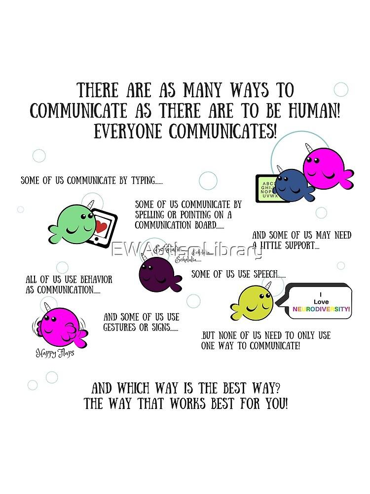 Many Ways To Communicate by EWAutismLibrary