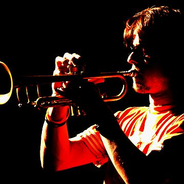 Trumpet Player by roger