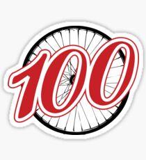 Red - 100 Sticker