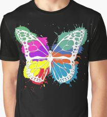 Grunge butterfly Graphic T-Shirt
