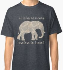 Around the World in 80 Days - Elephant Classic T-Shirt