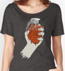My Heart like a Handgrenade Women's Relaxed Fit T-Shirt