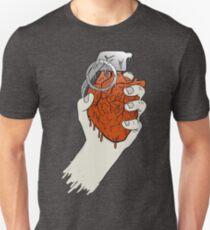 My Heart like a Handgrenade Unisex T-Shirt