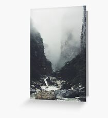 Winter on Everest  Greeting Card