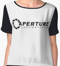 Aperture Laboratories (Half-Life) Women's Chiffon Top
