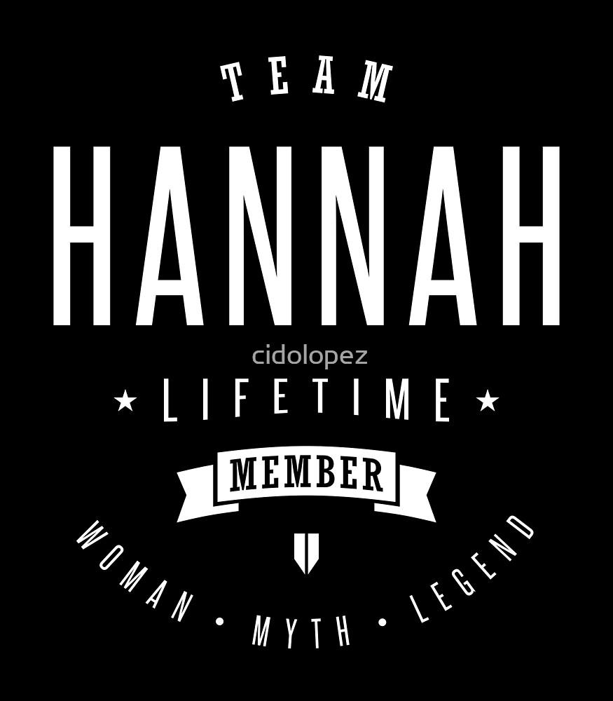 Hannah by cidolopez