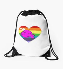 Flappy Pride! Drawstring Bag
