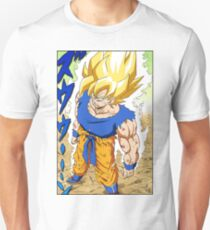Dragon Ball Z - Goku Super Saiyan Manga Unisex T-Shirt