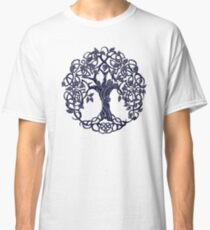 Tree of life blue Classic T-Shirt