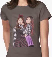 TWICE SANA AND TZUYU Womens Fitted T-Shirt