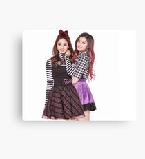 TWICE SANA AND TZUYU Canvas Print