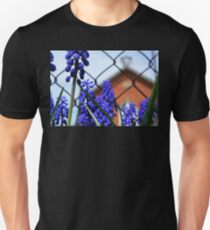 Grape Hyacinth at the Red Brick Schoolhouse Unisex T-Shirt