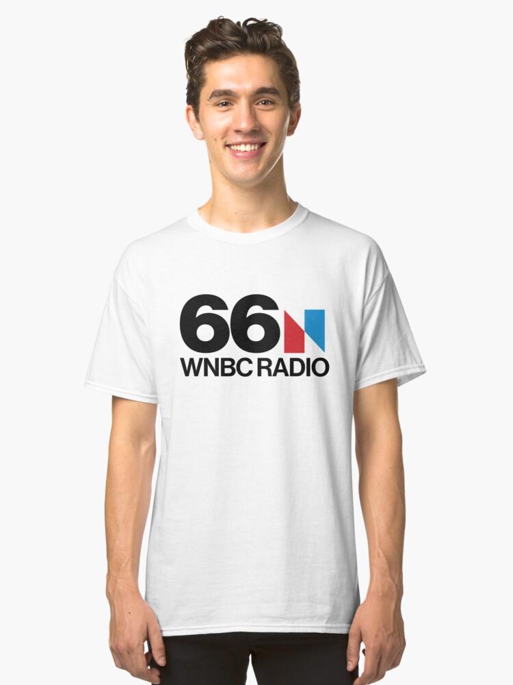 66 WNBC Radio Classic T-Shirt Front