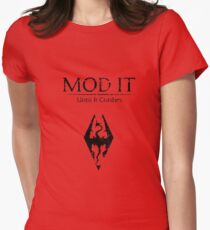 Mod It: Until It Crashes Women's Fitted T-Shirt