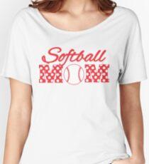 Softball Mom Women's Relaxed Fit T-Shirt