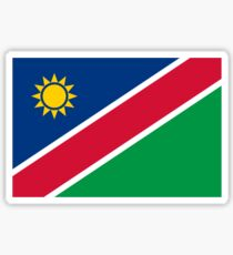 National Flag of Namibia Sticker