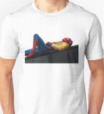 Spider Man Homecoming Vector Art Unisex T-Shirt
