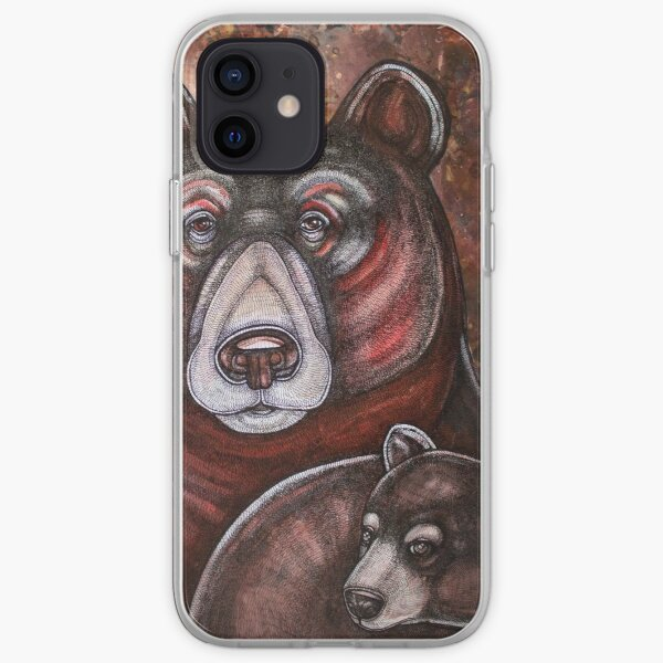 Arcas and Mother Bear iPhone Soft Case