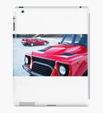 80's Lamborghinis: LM002 and Countach iPad Case/Skin