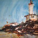 Point Lonsdale Lighthouse by Jean Cowan