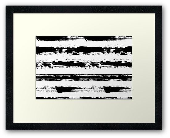 Painted Stripe Pattern Brush Strokes by amovitania