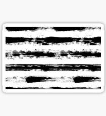 Painted Stripe Pattern Brush Strokes Sticker