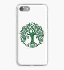 Tree of life Green iPhone Case/Skin