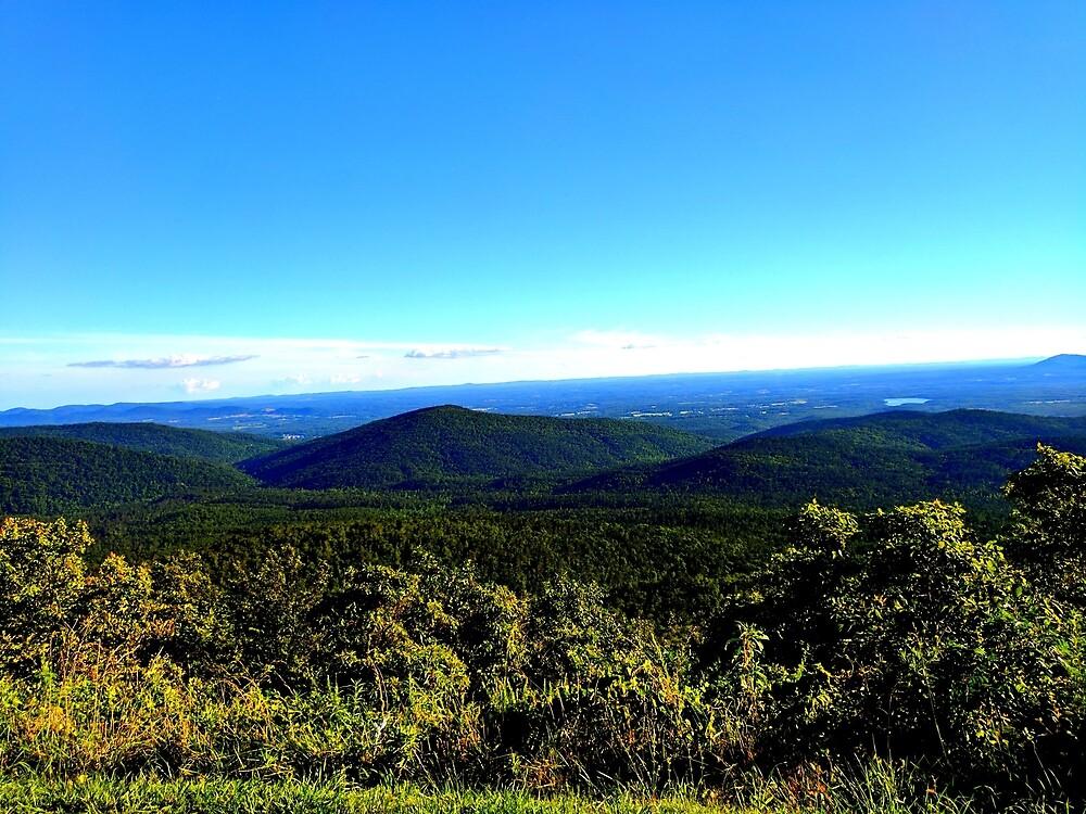 Arkansas Mountains by theveiledattic