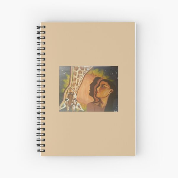 Alyssa's Dream-The Messenger Spiral Notebook