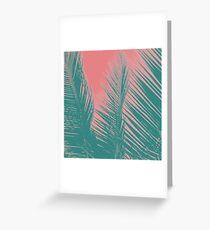 Pink & Aqua Summer Greeting Card