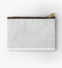 Every Lyric from Harry Styles Album Studio Pouch