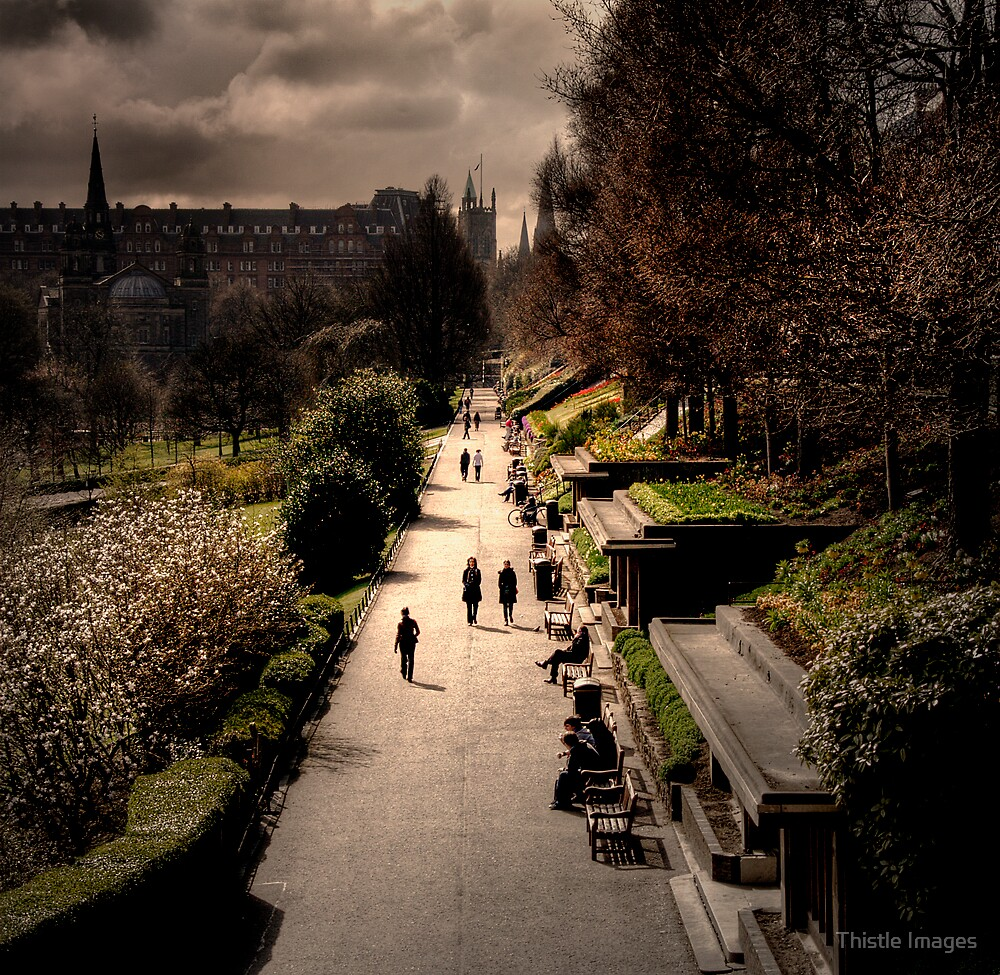 Princes Street Gardens by Thistle Images
