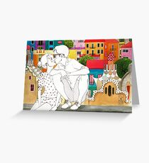 Barcelona Love Greeting Card