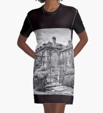 Formal Gardens Graphic T-Shirt Dress